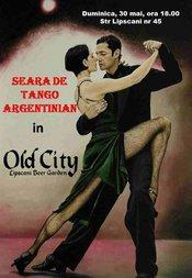 Seara de tango argentinian la Old City