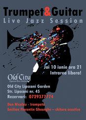 Trumpet & Guitar Live Jazz Session @ Old City Lipscani Garden