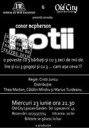 Old City si Teatrul de Arta Bucuresti va invita la seria de comedii din gradina