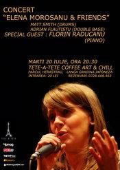 "Concert jazz ""Elena Morosanu & friends"""