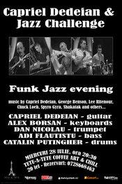 Concert jazz Capriel Dedeian & Jazz Challenge