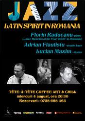 Concert jazz - Latin Spirit in Romania cu pianistul Florin Raducanu