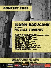 Concert jazz: FLORIN RADUCANU presents HIS JAZZ STUDENTS