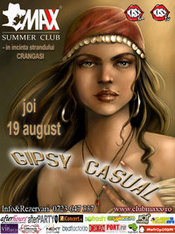 GIPSY CASUAL ::: JOI 19 AUGUST @ MAXX SUMMER CLUB