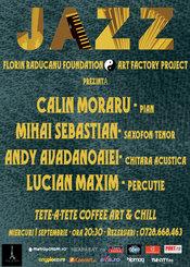 Jazz - Florin Raducanu Foundation @ Tete a Tete