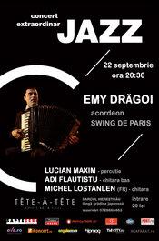 Concert extraordinar jazz - SWING DE PARIS cu EMY DRAGOI