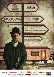 Teatrul de Arta Bucuresti si Old City prezinta un one man show de exceptie: Moscova- Petuski
