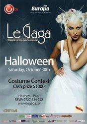 LE GAGA HALLOWEEN PARTY! CASH PRIZE $ 1000!