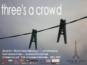 Concert de jazz - Three's a Crowd