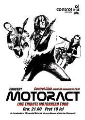 Motorhead Tribute cu MotorACT in Control Club