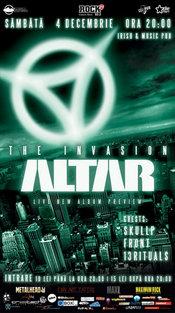 [4 DEC] ALTAR LIVE - CLUJ @ Irish&Music Pub - THE INVASION!