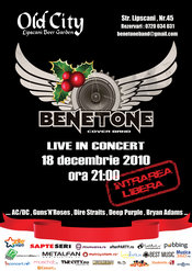 BENETONE @ Old City. Mos Craciun exista!
