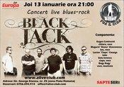 Concert live Black Jack blues-rock