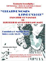 """Creative Women & Five o'clock"""