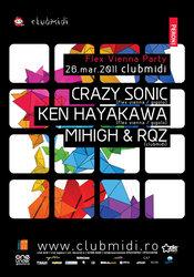 Crazy Sonic / Ken Hayakawa @ Club Midi