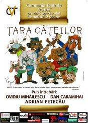 Tara Cateilor, un spectacol-protest la Teatru Nottara, 4 aprilie