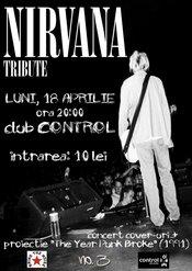 Nirvana Tribute in club Control