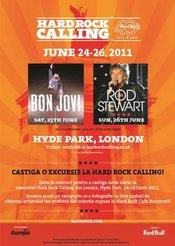 Hard Rock Cafe Bucuresti te trimite la Londra!
