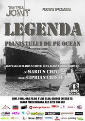 """Teatrul Joint prezinta """"Legenda pianistului de pe ocean"""""""