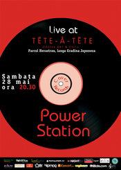 Power Station live @ Tete-a-Tete