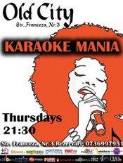 Thursday Karaoke Mania in Old City Franceza cu Laurentiu