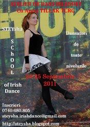 Atelier de dans irlandez cu Anna Tillak, TCRG