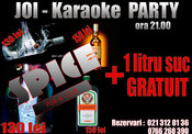 Karaoke Party in Spice Club