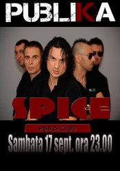 Concert PUBLIKA in Spice Club