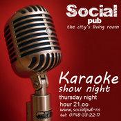 Karaoke Show Night @ Social Pub