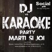 Dj vs Karaoke in Social Pub