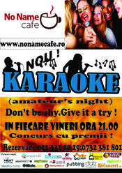 Karaoke (amateur's night)