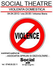 Social Theatre - Violenta Domestica - la Social Pub