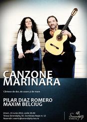 CANZONE MARINARA, cu Pilar Diaz Romero si Maxim Belciug