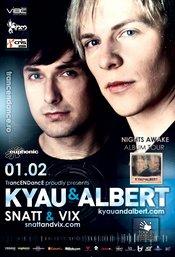 "TrancENDancE cu Kyau & Albert (Germania) ""Nights Awake"" Album Tour @ Studio Martin - Vineri, 1 Februarie, 2013"