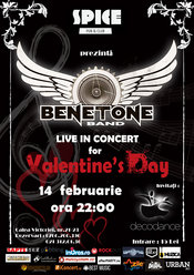 Rock this Valentine Day! Doar cu BENETONE Band