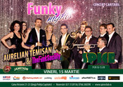 Aurelian Temișan & The Funk Society – concert caritabil