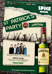 Jameson St. Patrick's Party cu Alin Pascal Band