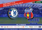 Vezi meciul Chelsea - Steaua în Spice!