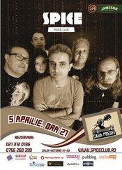 Concert LIVE Casa Presei @ Spice Club