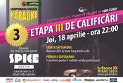 Campionatul Spice de Karaoke - etapa 3 (calificari)