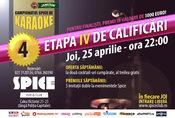 Campionatul Spice de Karaoke – etapa 4 (calificari)