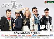 Concert LIVE Compania 7 în Spice Club