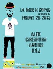 Alek, Ciresharii, +Andrei, Kaj @ La Mine-n Copac