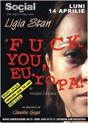 Teatru de Cafenea -FUCK YOU EU.ro.PA @ Social Pub