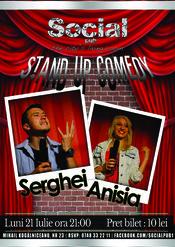 Stand Up Comedy cu Serghei si Anisia la Social Pub