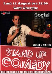 Stand up Comedy cu Gabi Gherghe @ Social Pub