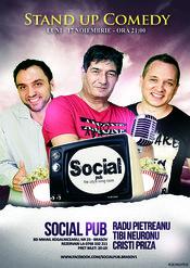 Stand up comedy cu trupa CNP @ Social Pub