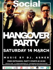 Hangover Party @ Social Pub