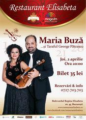 Maria Buza & Taraful George Patrascu la Restaurant Elisabeta
