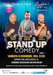 Stand-Up Comedy cu Cristian Dumitru & Friends